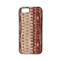 Wrinkly Batik Pattern Brown Beige Apple Iphone 5 Classic Hardshell Case (pc+silicone) by EDDArt