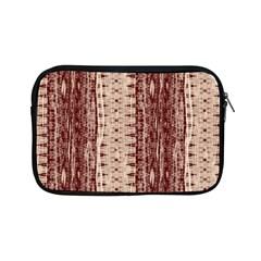Wrinkly Batik Pattern Brown Beige Apple Ipad Mini Zipper Cases by EDDArt
