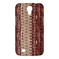 Wrinkly Batik Pattern Brown Beige Samsung Galaxy Mega 6 3  I9200 Hardshell Case by EDDArt