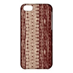 Wrinkly Batik Pattern Brown Beige Apple Iphone 5c Hardshell Case by EDDArt