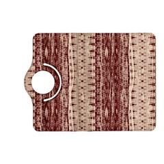 Wrinkly Batik Pattern Brown Beige Kindle Fire Hd (2013) Flip 360 Case by EDDArt