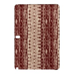 Wrinkly Batik Pattern Brown Beige Samsung Galaxy Tab Pro 12 2 Hardshell Case by EDDArt