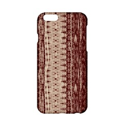 Wrinkly Batik Pattern Brown Beige Apple Iphone 6/6s Hardshell Case by EDDArt