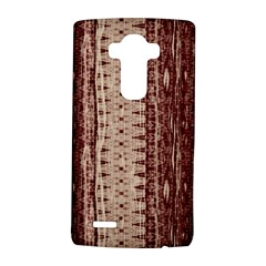 Wrinkly Batik Pattern Brown Beige Lg G4 Hardshell Case by EDDArt