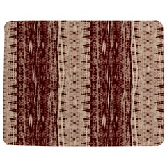 Wrinkly Batik Pattern Brown Beige Jigsaw Puzzle Photo Stand (rectangular) by EDDArt