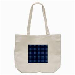 Lumberjack Fabric Pattern Blue Black Tote Bag (cream) by EDDArt