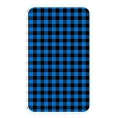 Lumberjack Fabric Pattern Blue Black Memory Card Reader by EDDArt