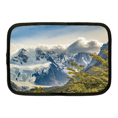 Snowy Andes Mountains, El Chalten Argentina Netbook Case (medium)  by dflcprints