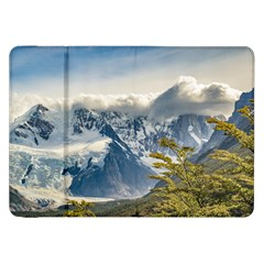 Snowy Andes Mountains, El Chalten Argentina Samsung Galaxy Tab 8 9  P7300 Flip Case by dflcprints