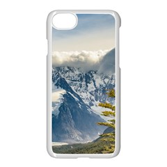 Snowy Andes Mountains, El Chalten Argentina Apple Iphone 7 Seamless Case (white) by dflcprints