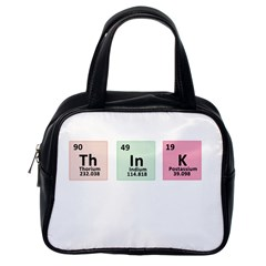 Think   Chemistry Classic Handbags (one Side) by Valentinaart