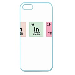Think   Chemistry Apple Seamless Iphone 5 Case (color) by Valentinaart