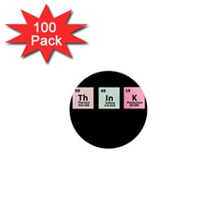 Think   Chemistry 1  Mini Magnets (100 Pack)  by Valentinaart
