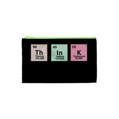 Think   Chemistry Cosmetic Bag (xs) by Valentinaart