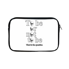 To Be Or Not To Be Apple Ipad Mini Zipper Cases by Valentinaart