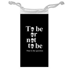 To Be Or Not To Be Jewelry Bag by Valentinaart