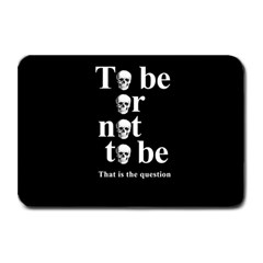 To Be Or Not To Be Plate Mats by Valentinaart