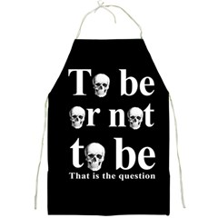 To Be Or Not To Be Full Print Aprons by Valentinaart