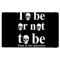 To Be Or Not To Be Apple Ipad 3/4 Flip Case by Valentinaart