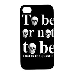 To Be Or Not To Be Apple Iphone 4/4s Hardshell Case With Stand by Valentinaart
