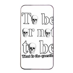 To Be Or Not To Be Apple Iphone 4/4s Seamless Case (black) by Valentinaart