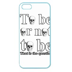 To Be Or Not To Be Apple Seamless Iphone 5 Case (color) by Valentinaart