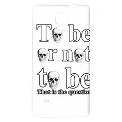 To Be Or Not To Be Galaxy Note 4 Back Case by Valentinaart