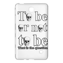 To Be Or Not To Be Samsung Galaxy Tab 4 (8 ) Hardshell Case  by Valentinaart