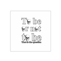 To Be Or Not To Be Satin Bandana Scarf by Valentinaart