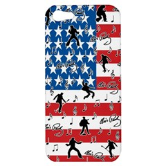 Elvis Presley Apple Iphone 5 Hardshell Case by Valentinaart
