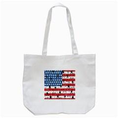 Elvis Presley Tote Bag (white) by Valentinaart