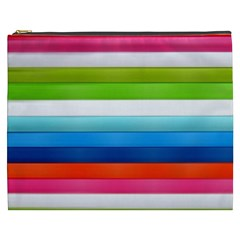 Colorful Plasticine Cosmetic Bag (XXXL)  by Vayuart