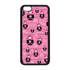 Matryoshka Doll Pattern Apple Iphone 5c Seamless Case (black) by Valentinaart