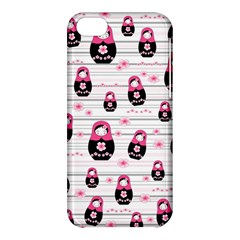 Matryoshka Doll Pattern Apple Iphone 5c Hardshell Case by Valentinaart