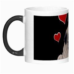 Love Pugs Morph Mugs by Valentinaart