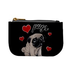 Love Pugs Mini Coin Purses by Valentinaart