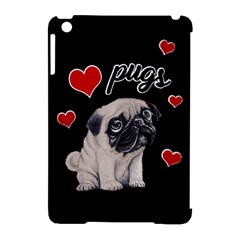 Love Pugs Apple Ipad Mini Hardshell Case (compatible With Smart Cover) by Valentinaart
