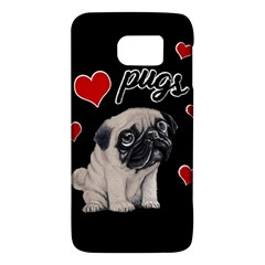 Love Pugs Galaxy S6 by Valentinaart