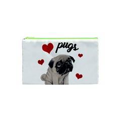 Love Pugs Cosmetic Bag (xs) by Valentinaart