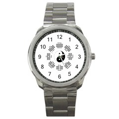 I Ching  Sport Metal Watch by Valentinaart