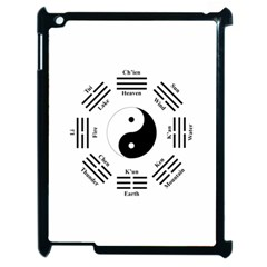 I Ching  Apple Ipad 2 Case (black) by Valentinaart