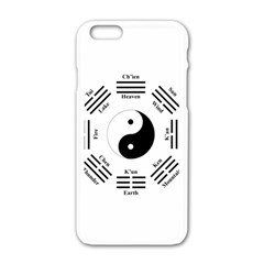 I Ching  Apple Iphone 6/6s White Enamel Case by Valentinaart