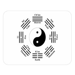 I Ching  Double Sided Flano Blanket (large)