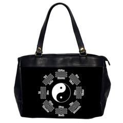 I Ching  Office Handbags (2 Sides)  by Valentinaart