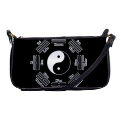 I Ching  Shoulder Clutch Bags by Valentinaart