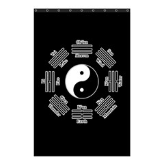 I Ching  Shower Curtain 48  X 72  (small)  by Valentinaart