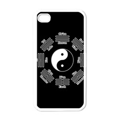 I Ching  Apple Iphone 4 Case (white) by Valentinaart