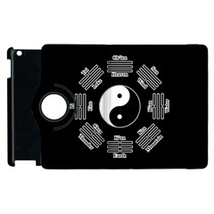 I Ching  Apple Ipad 3/4 Flip 360 Case by Valentinaart