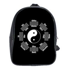I Ching  School Bags (xl)  by Valentinaart