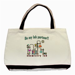Chemistry Lab Basic Tote Bag by Valentinaart